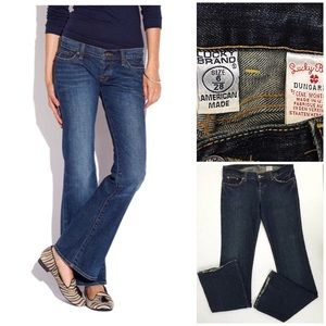 Lucky Brand lil Maggie flare jeans size 6/28